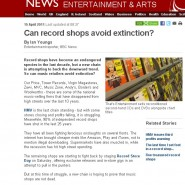 RSC on the BBC!…plus Record Store Day facts & figures…